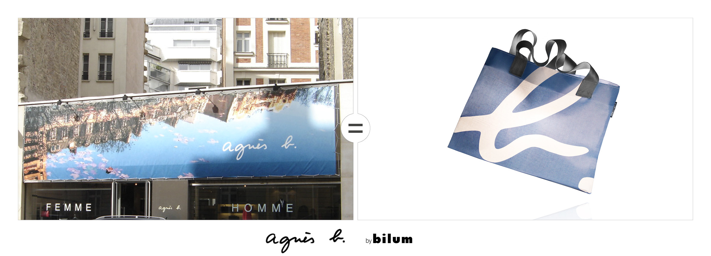 Air France gilets upcyclees by bilum
