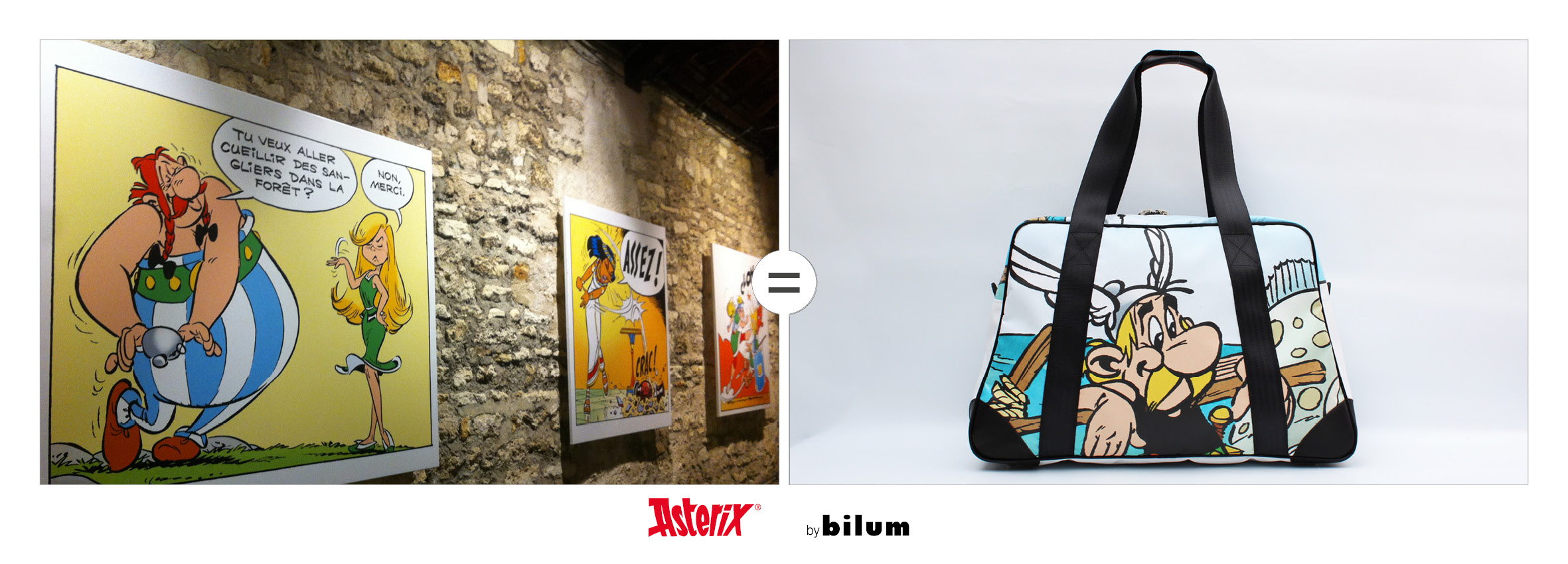 Asterix-toile-upcyclees-by bilum